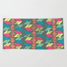 Arrows Beach Towel
