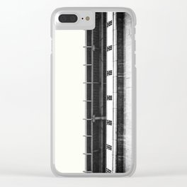 Architecture in black & white Clear iPhone Case