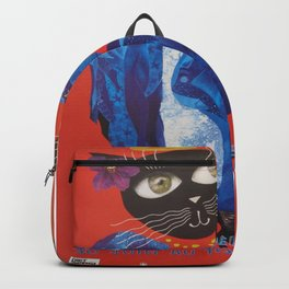 1994 Montreal Jazz Festival Cool Cat Poster No. 2 Gig Advertisement Backpack