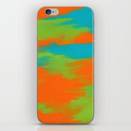 Colorful intense mixed iPhone Skin