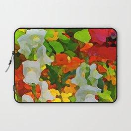 Colorful Flower Garden Laptop Sleeve