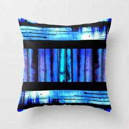 Blue Friends (9) Throw Pillow