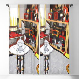 Shower of Gold Magic Trick Blackout Curtain