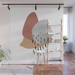 Big Shapes / Clouds Wall Mural