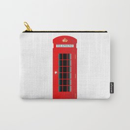 UK Telephone Box Carry-All Pouch