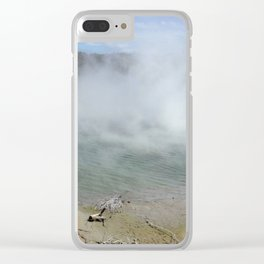 fantasy worlds Clear iPhone Case