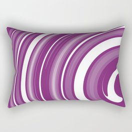lollipop in white and purple Rectangular Pillow