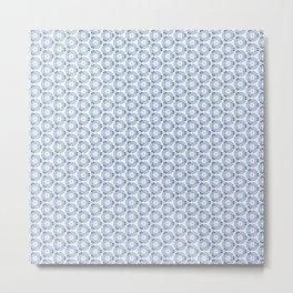 Abstract Ornament Tiles Metal Print