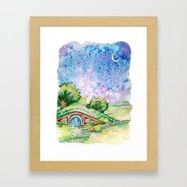Bilbo's House Framed Art Print