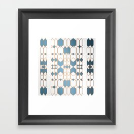 Patternbronze #1 Framed Art Print