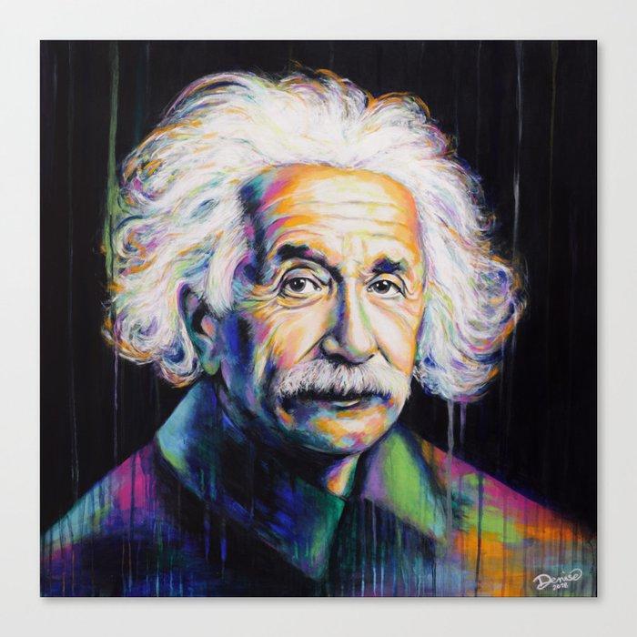 Albert Einstein Leinwanddruck