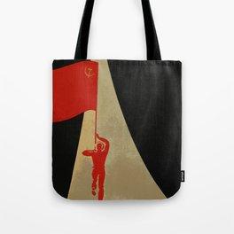 all the way up to the stars - soviet union propaganda Tote Bag