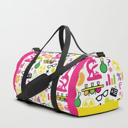 Neon Scientist Duffle Bag