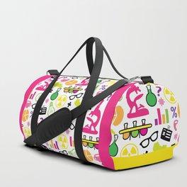 Neon Scientist Duffle Bag