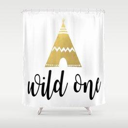 Wild One Shower Curtain