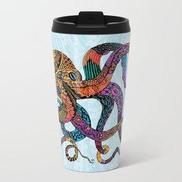 Electric Octopus Metal Travel Mug