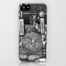 Cats at 3am iPhone Case