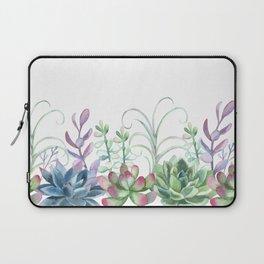 Succulents in The Garden Laptop Sleeve