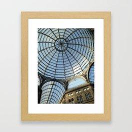 Galleria in Naples Framed Art Print