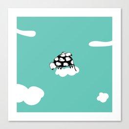 Flying Turtle by McKenna Sanderson Canvas Print