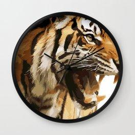 Royal tiger Wall Clock