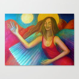 Angel of Protection Canvas Print