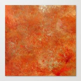 The orange part Canvas Print