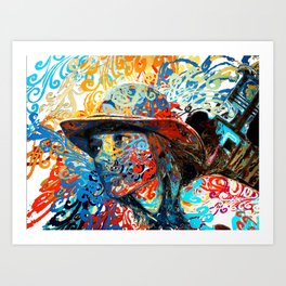 Kajsa Art Print
