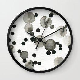 Como pompas II Wall Clock