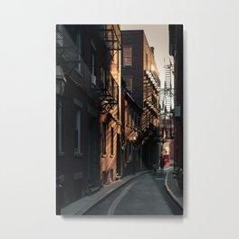 Hanover Alley  Metal Print