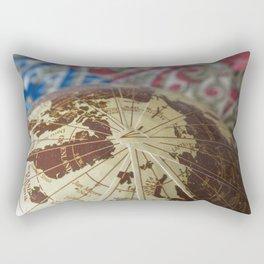 Cartographic Imperfections Rectangular Pillow