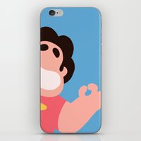 steven universe iPhone & iPod Skins featuring Steven Universe by EsthersHouse