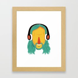 David! Framed Art Print