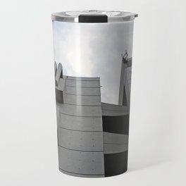 brutalist walkway - roger stevens building - leeds Travel Mug