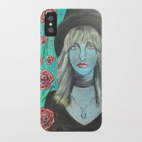 stevie nicks iPhone & iPod Cases featuring Stevie by Olivia Harris Studio
