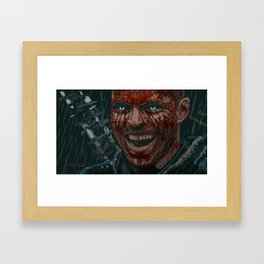 Ivar the Boneless Painting by Chris Ellis Framed Art Print