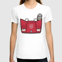 transformers T-shirts featuring Transformers - Sideswipe by CaptainLaserBeam