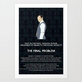 The Final Problem - Mycroft Holmes Art Print
