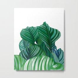 Leafy Guys Metal Print