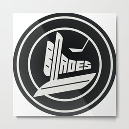 Blades Metal Print