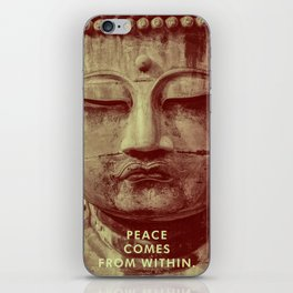 Buddha Duotone 3 iPhone Skin