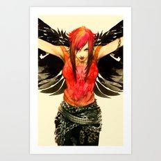 Punk Angel Art Print