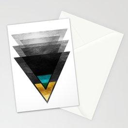 Downbeat Ode to Jazz Modern Minimalism Stationery Cards