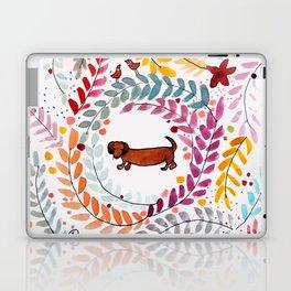 teckel love Laptop & iPad Skin