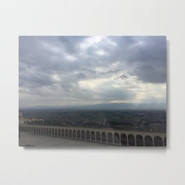 Assisi's Heaven Metal Print