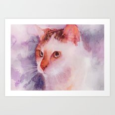 Soft fur Art Print