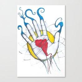 HAND Canvas Print