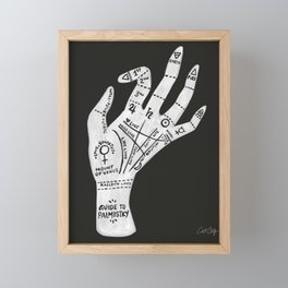 Palm Reading Framed Mini Art Print