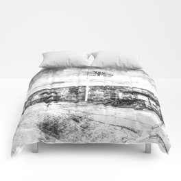 Edinburgh Castle Vintage Comforters