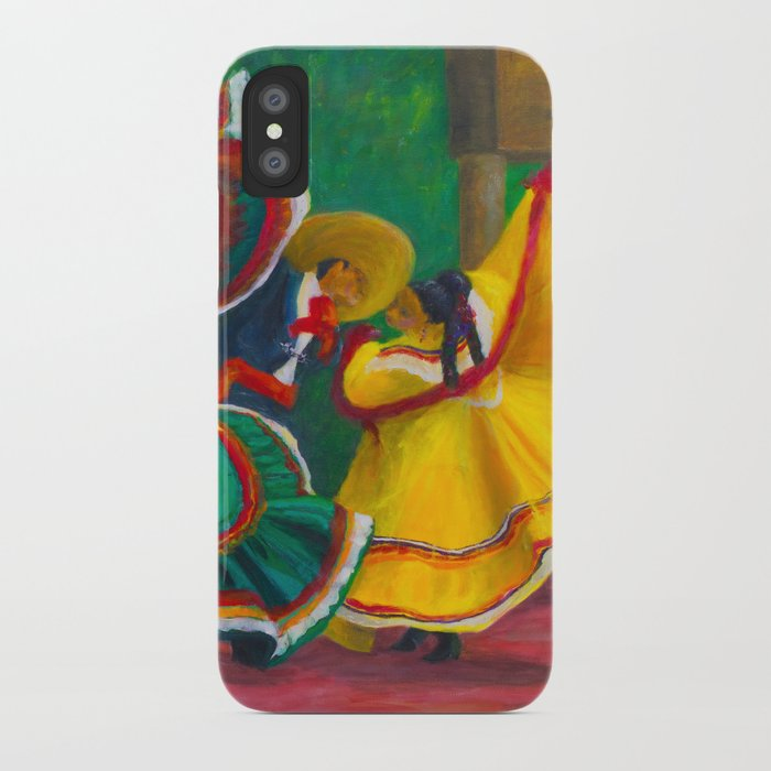 Baile Folklorico iPhone Case